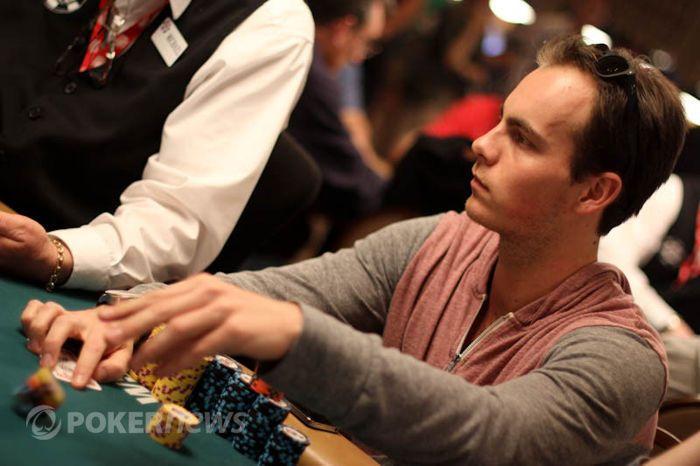 Oscar Kemps eerder in het Main Event