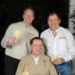 Marcel Luske, Yves Kupfermunz & Pierre Neuville.