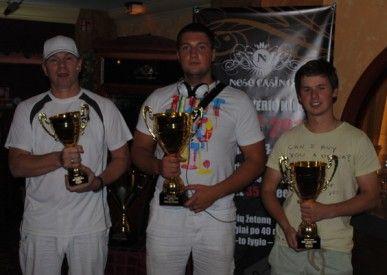 Finalinis trejetas: Ričardas, Vytautas ir Romanas