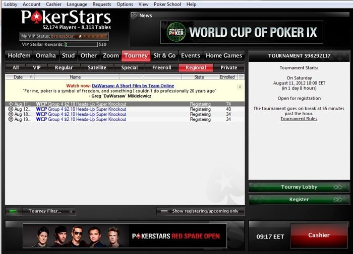 World Cup of Poker IX - Нека класираме България на финалите... 101