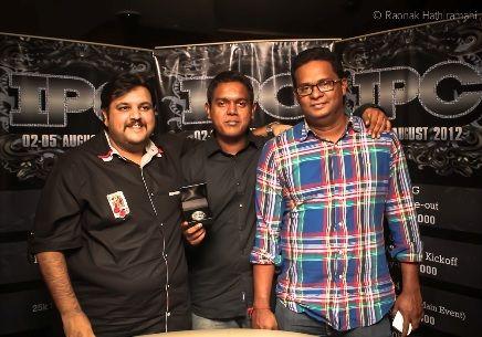 Rajeev Raut, Richard Haridasoham and Sanjay Lawrence