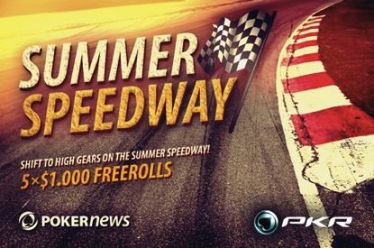 PokerNews +EV: PKR Summer Speedway, WCOOP Main Event Seats and MORE Free Cash on Poker770! 101