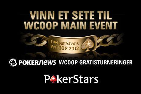 PokerNews +EV: PKR Summer Speedway, WCOOP Main Event seter og MER gratis dollar hos Poker770! 102