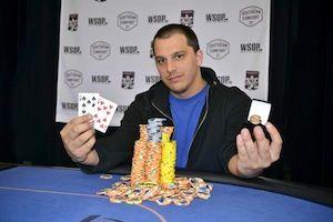 Blake Barousse, winner of Event #1.