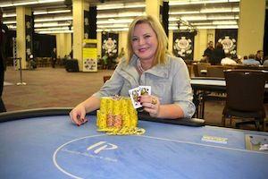 Elisa Burkett, winner of Event #2.
