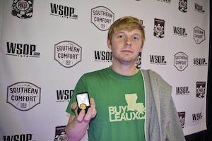 Caufman Talley, winner of Event #4.