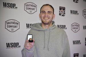 John Dolan, winner of Event #6.