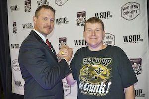 Ben Mintz, winner of Event #9.