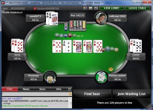 """""""som6873"""" wygrał $26,336.35 z parą króli."""