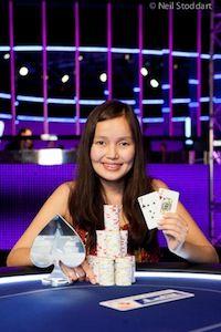 Liya Gerasimova. Photo courtesy of PokerStars Blog.