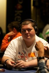 Gareth Walker. Picture courtesy of the PokerStars Blog.