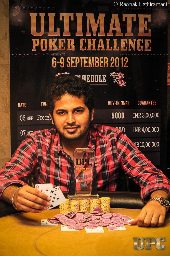 Abhinav Aditya, winner of UPC 10k Headsup Challenge