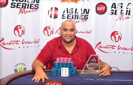Sangeeth Mohan, winner of Event 2: Headhunter