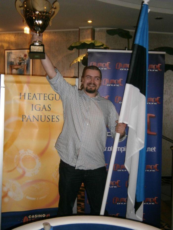 Eesti - Soome maavõistluse 2012 võitja Kaur Mägi