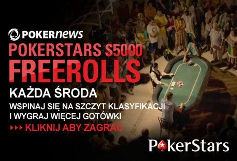 PokerNews +EV: ,500 na PokerStars, Manchester United z PartyPoker, ,000 na Poker770 104