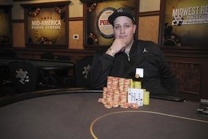 Chris Karambinis, winner of Event #4.