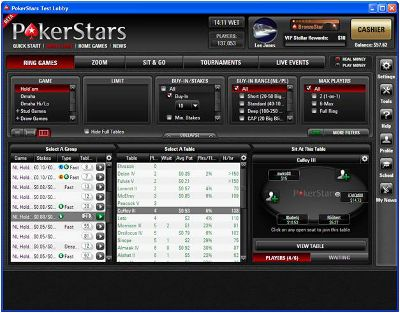 PokerStars To Release New Client 101