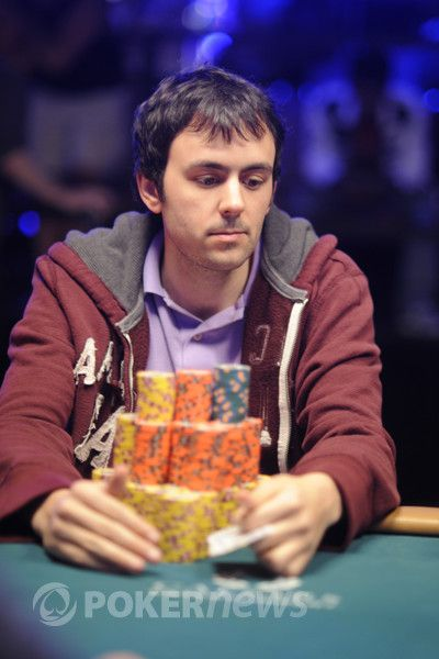 David Randall at the 2012 WSOP Main Event