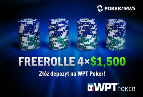 PokerNews +EV: ,000 we freerollach na WPT, iPady na PartyPoker i znacznie więcej 102