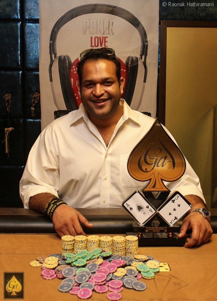 Madhav 'Maddy' Gupta, winner of 15k Superbounty event