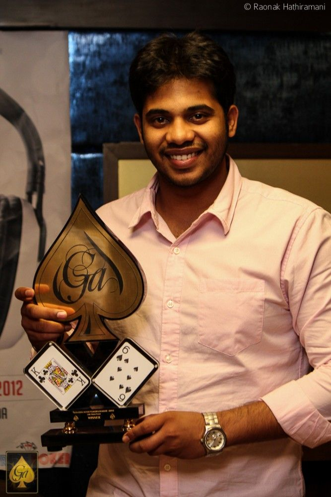 Dyuthidhar Suresh, winner of 20k Main Event