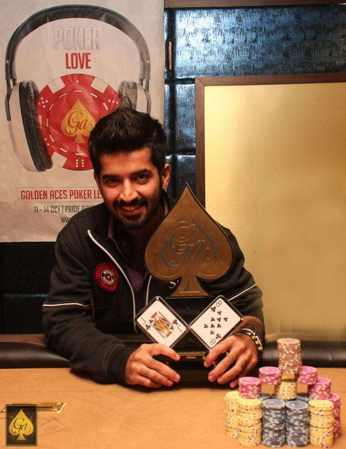 Raonak Hathiramani, winner of 3k Wild Card event