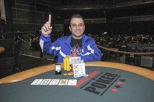 Eddie Ochana, winner of Event #3.