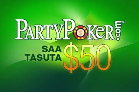 Proovi hiljemalt 23. oktoobril PartyPokeri kiirpokkerit ja pääsed iPadide loteriirattasse 102