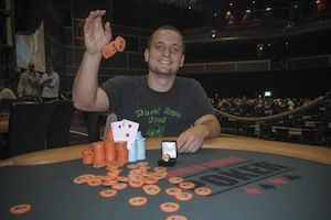 Stanislav Barshak, winner of Event #6.