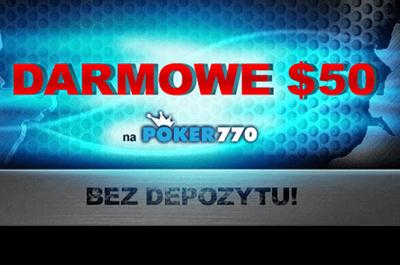 Dzięki promocji Magnificent 77 na Poker770 możesz wygrać część z puli ,000 101