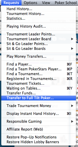 Pasos a seguir para recuperar el dinero de Full Tilt Poker 101