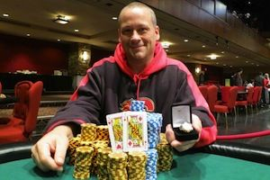 Dean Engemoen, winner of Event #5