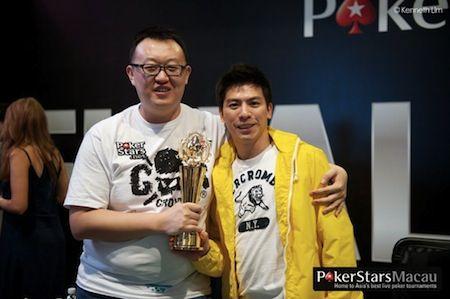 APPT 마카오: 아시아 챔피언십 오브 포커의 우승자는 Xing Zhou 101