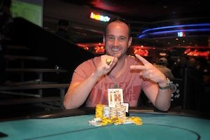 Kevin Calenzo, winner of Event #7.