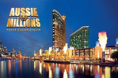 Partys: Acceleratoril aeg gaas põhja vajutada, Aussie Millions, mängijate küsitlus ja muud 102