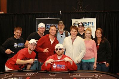 2012 MSPT Northern Lights Casino Champ Matt Kirby