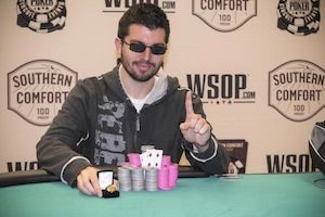 Daniel Marcus, winner of Event #3.