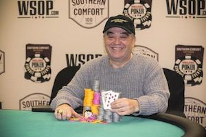 Moshe Bernstein, winner of Event #4.