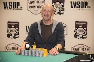 Yury Parad, winner of Event #5.