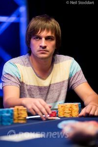 Mikalai Pobal leads the EPT9 POY race.