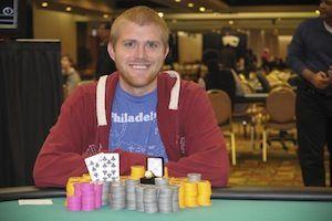 James Gilbert, winner of Event #7.