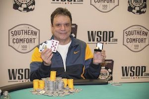 """Miami"" John Cernuto, winner of Event #8."