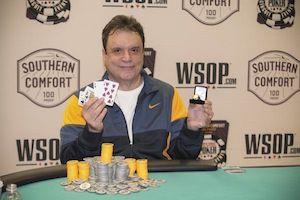 """Miami"" John Cernuto, winner of Event #8."
