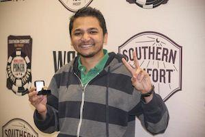 Kunal Shah, winner of Event #9.