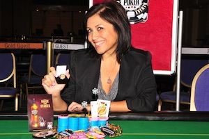Donna Delfin, winner of Event #5.