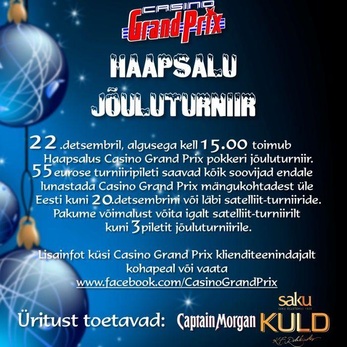 Tulemas Casino Grand Prix aastalõputurniirid Kuressaares ja Haapsalus 102