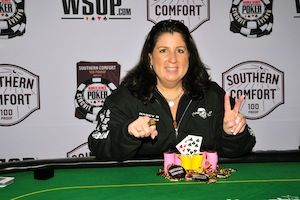 Nancy Birnbaum, winner of Event #8