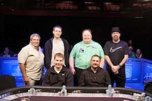 The HPT Championship Open final table.