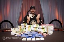 Phil Hellmuth vant 13. WSOP Bracelet