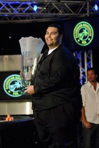 Poorya Nazari (Picture courtesy of PokerStars Blog)